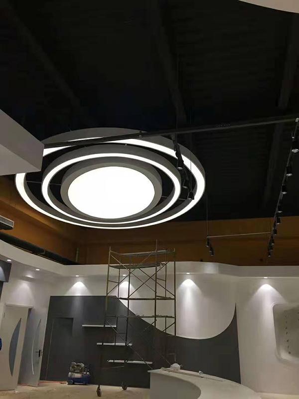 石家庄人民会堂使用公共区域智能照明控制系统